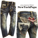 Translation and outlet products «type» surprise! 1500 Yen NEW YORK PAPA back wing embroidery ポケットスタッズ denim 6300 yen (tax incl.) or more purchase at s Korea children's clothing.