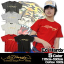 "6 / 5 150 cm-160 cm from 13:59 purchased by ""fashionable キッズミオ? t 110 cm 120 cm 130 cm-140 cm shipping half Korea kids clothes Ed Hardy (Ed Hardy ) gold foil logo print t-shirt 6480 yen or more"