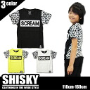 Korea kids clothes SHISKY SCREAM スカルペイズリー switch short sleeve T shirt 7 / 4 19:29 up to 3,700 yen (plus tax) more than 150 cm-160 cm (cash out) s fashionable キッズミオ? t 110 cm 120 cm 130 cm-140 cm in the purchase