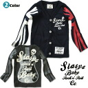 "Korea kids clothes SLASYS 2013 / W Rock 'n' Roll guitar Cardigan 6300 yen (tax incl.) or more purchased at ""fashionable キッズミオ? t 100 cm 110 cm 120 cm 130 cm-140 cm 150 cm-160 cm"