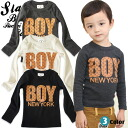 "Korea kids clothes SLASYS BOY NEWYORK tee shirt 6300 yen (tax incl.) or more ""fashionable キッズミオ? t 100 cm 110 cm 120 cm in the purchase 130 cm-140 cm 150 cm-160 cm"