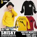 It is 《 fashion kids Mio 》 110cm 120cm 130cm 140cm 150cm 160cm by the purchase more than children's clothes SHISKY JUSTICE HONESTY lib V neck T-shirt 6,480 yen of Korea