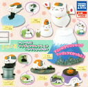 [Gacha Gacha complete set]Natsumeyujincho Nyanko-sensei Figure Collection Featured Image set of 6