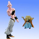 (3) HGPLUS EX action pose Dragon Ball Z majin Buu (evil) & baked