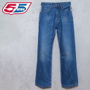 ■Straight jeans denim underwear 55d-m-p-38-606 with the 55DSL diesel men ■ back waist print charm