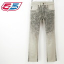 ■ 55 DSL fifty five diesel diesel mens ■ gradient straight jeans denim pants 55d-m-p-54-607