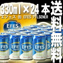 "Efes ""EFES Pilsen"" Turkey beer 1 case (24 cans)"