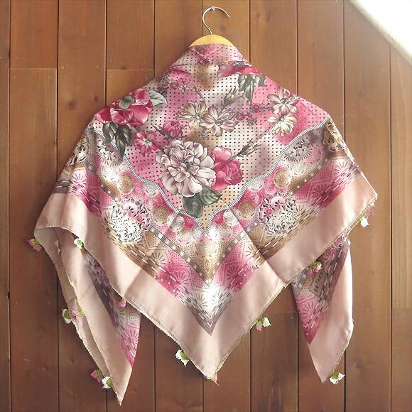 帕欧亚绣的霍亚围巾钩针钩编花边土耳其传统工艺品