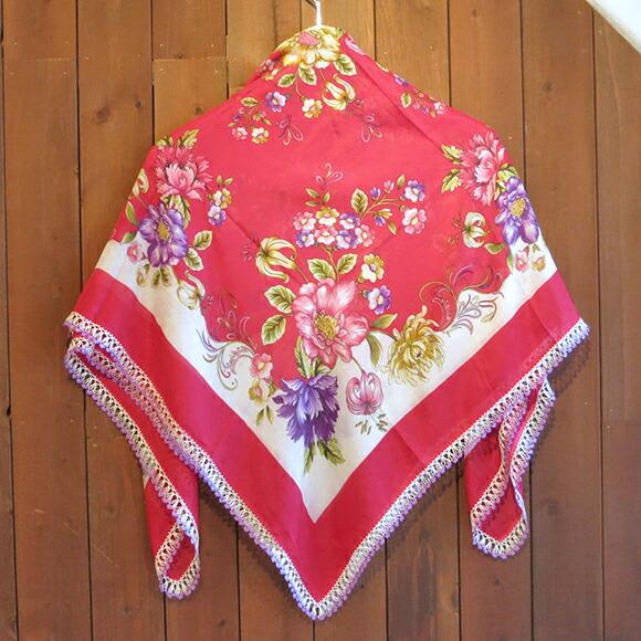 到欧亚欧亚围巾钩针钩编花边土耳其传统工艺品