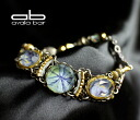 Ayala-classic collection bracelet Glamorous glamourous IRIS