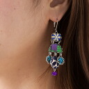 Ayala bar Hip collection earrings synphonic blue symphonic blue