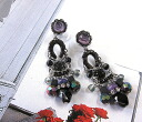 Ayala bar pierced earrings midnight purple