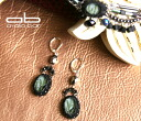 Ayala bar Hip collection pierced earrings Twilight Crow twilight Crowe