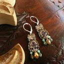 Ayala berkelaSchick collection pierced earrings mimosa