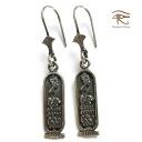 Egypt Silver 925 earrings Egyptian Silver925 Jewerly hierogrivkartouche Nefertiti
