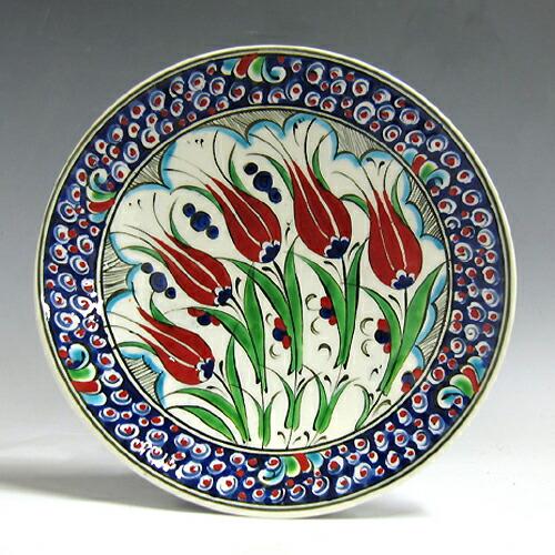 kyutahya 陶器工艺品民俗艺术土耳其-库塔雅陶手绘花卉设计图片菜 18