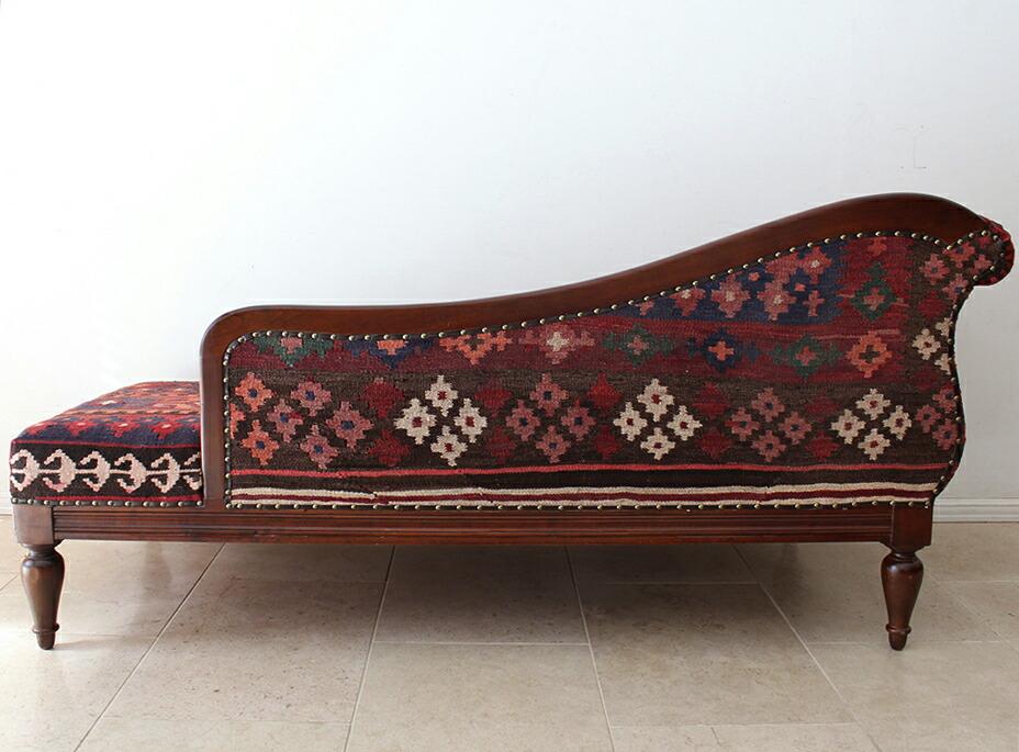 キリムの木製家具・カウチソファ