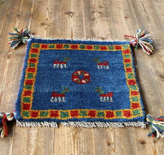手工编织地毯和垫层大小