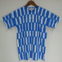 "Tie dye short sleeve T shirt ""blue Checker' made in Japan T shirt + domestic dyeing"