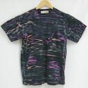 """Dangerous"" Aperture dye original stain short sleeve T shirt / original t shirt / tie-dye"