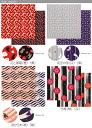 Today from kurochiku rodomontade Kyoto cute kimono furoshiki, etc on how cute wrapping