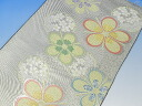 Silk Nishijin Obi fabrics fabric sewing craft such as the valuable ☆ Nishijin Obi applique silk 100% about 33 x 50 cm