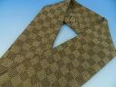 You can order tailored in pure silk Edo Komon city pine shark Komon ISE folklore pattern fabric and Tango Chirimen 20000 Yen