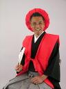 Birthday trip sixty rental 60 60-year-old red wadded vest hood sense