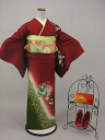 Uchikake kimono kimono trip visiting with lower rent Tall sizes KF108