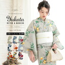 Yukata 3 items set 2015 new ladies yukata fukubukuro 20 patterns kimono machi original cotton yukata with selectable belt and accessories size S/F/TL/LL