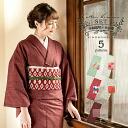 Cotton kimono and Kyoto kimono Fukuro when two points set code03 [R]