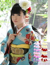 Maiko Style Hair Accessory/Hairpin Vine Charm Red/Pink Kimonomachi Original