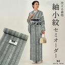 "Komon kimonos semi order washable ' albino x black, well road ""HANAE MORI brand goods, 八掛, 胴裏, tailor's all inclusive [R] fs3gm"