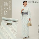 Kimono semi order tsumugi Komon washable ' White x in the sky gray diagonal stripes floral chintz ' Ichida Hiromi were favorite fabric, 八掛, 胴裏, tailor's all inclusive [R] <U>fs3gm05P10Nov13
