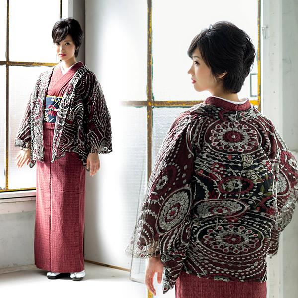おとづき商店 女性羽織 小紋、紬に