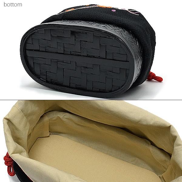 袴巾着 巾着バッグ単品 日本製