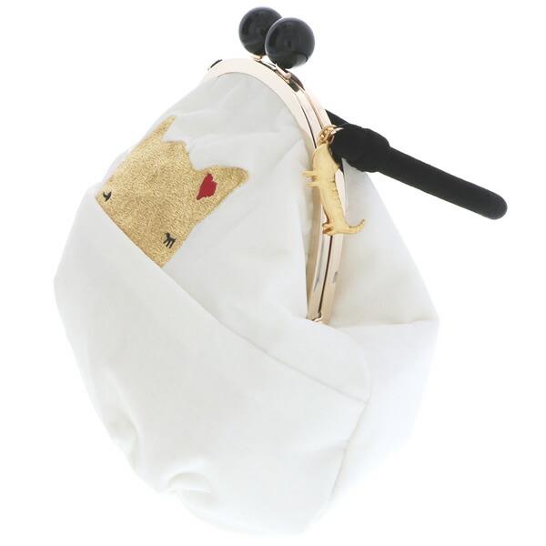 ベルベット 振袖バッグ 刺繍バッグ