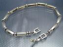 Titanium bracelet /SQUARE MAGIC+2/Type H1