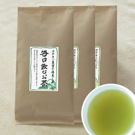 毎日飲むお茶