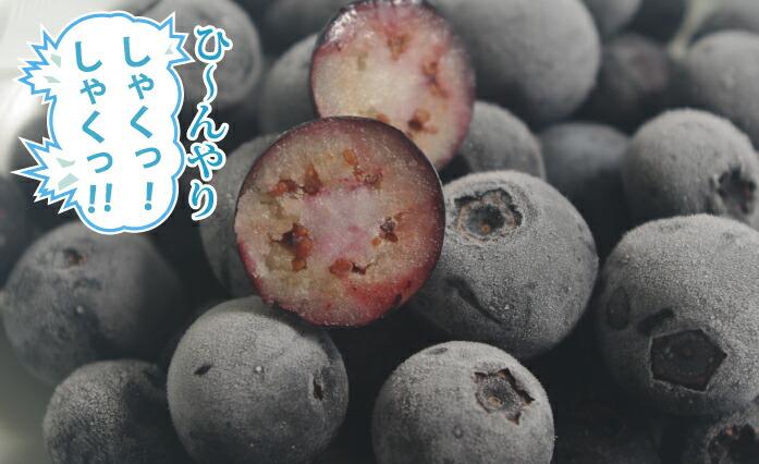 冷凍ブルーベリー3