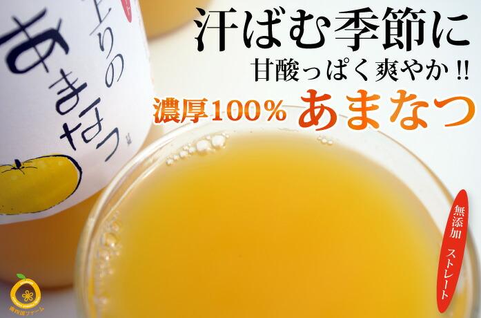 愛媛産甘夏100%果汁