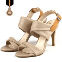 2015 spring summer new ☆ simple / buckle / beige / chic / leather / ☆ bergiussic sandal 02P01Mar15