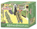 "63 madeleine 63 pieces puzzle London (Madeline Piece Puzzle ""A walk in LONDON""/BRIARPATCH company)"