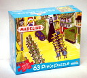 """63 madeleine 63 pieces puzzle London (Madeline Piece Puzzle """"A walk in LONDON""""/BRIARPATCH company)"""