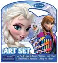 "Disney ""Anna and the snow Queen"" oekaki handprint Disney Frozen Character Art Tote Activity Set"