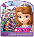 Disney little Princess Sofia drawing handprint Disney Sofia The First Character Art Tote Activity Set