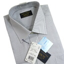 Morphological stability long-sleeved shirt (shirt, dress shirt) ARROW (arrow brand) hairline stripe ( around the collar-Yuki ) 40-76