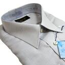 Morphological stability long-sleeved shirt (shirt, dress shirt) ARROW (arrow brand) pin ( around the collar-Yuki ) 43-82