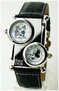 Disney Mickey Mouse dual time watch