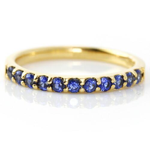 コーンフラワーサファイアの指輪